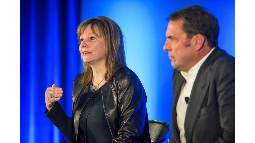 Mary Barra Reiterates GM's EV Commitments And Financial Investments