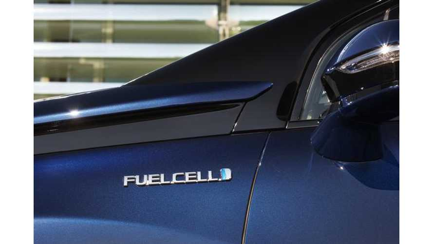 Toyota To Trial Mirai Fuel Cell In China