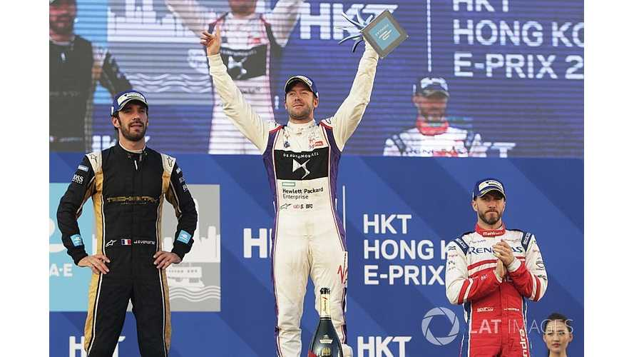 Bird Wins Formula E Opener In Hong Kong