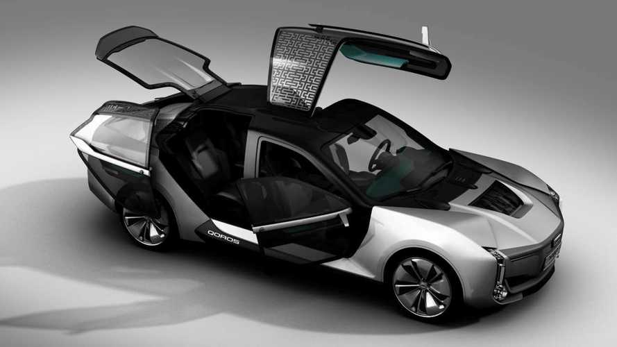 Qoros Model K-EV Opens Its Crazy Doors