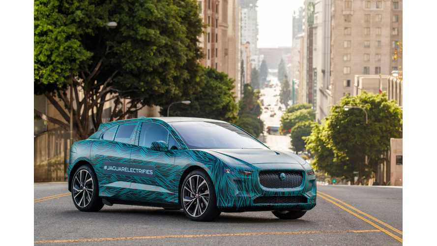 Jaguar I-Pace Range Test - Video + Images