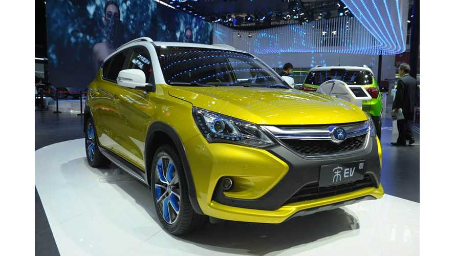 BYD Gains On World EV Sales Leaders, July Results Equal Tesla & BMW Combined