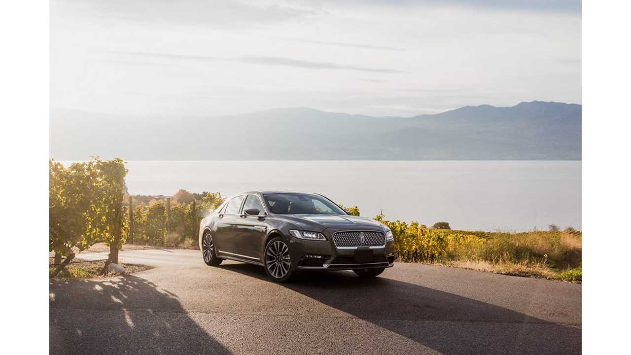 Report: Lincoln To Introduce Electrified Versions Of All Models By 2022