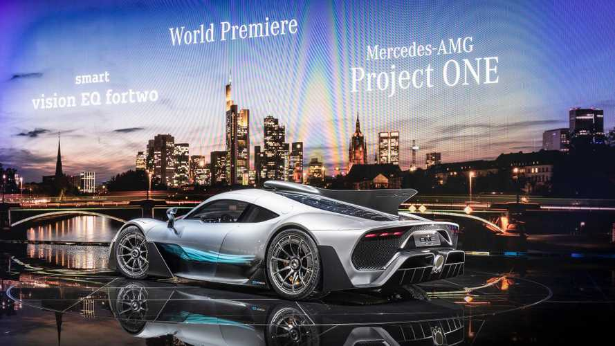Live Look At Mercedes-AMG Project One - Video