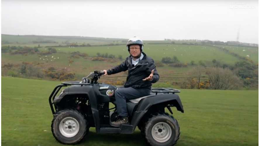 Electric Quad Bikes Featured In Fully Charged
