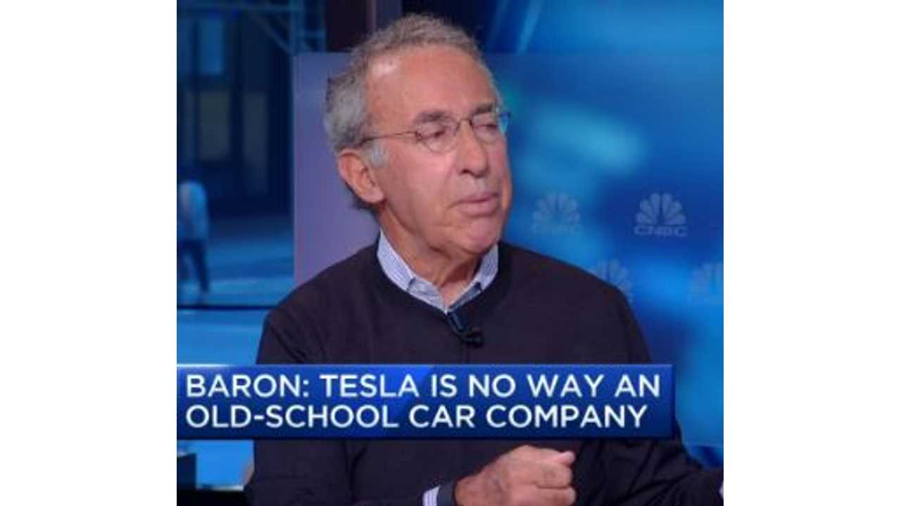 Billionaire Ron Baron Says Tesla Will Become One Of World's Largest Companies (w/video)