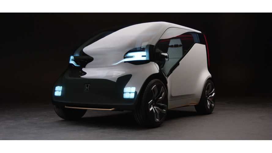 "Honda NeuV: Electric ""Mini-Vehicle"" Concept With Artificial Intelligence"