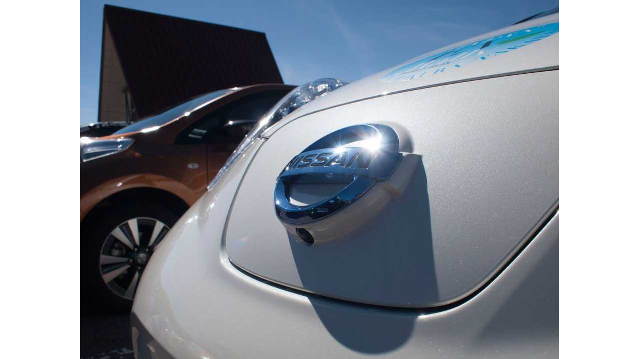 Nissan LEAF Sales Show First Gain In 20 Months For September In The US