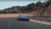 Dallara Stradale on track