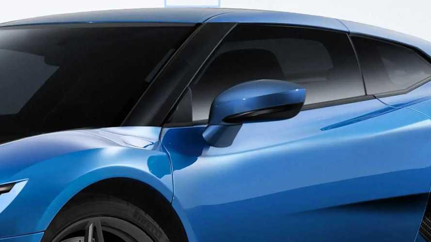 Subaru-Mittelmotorsportwagen (Rendering)