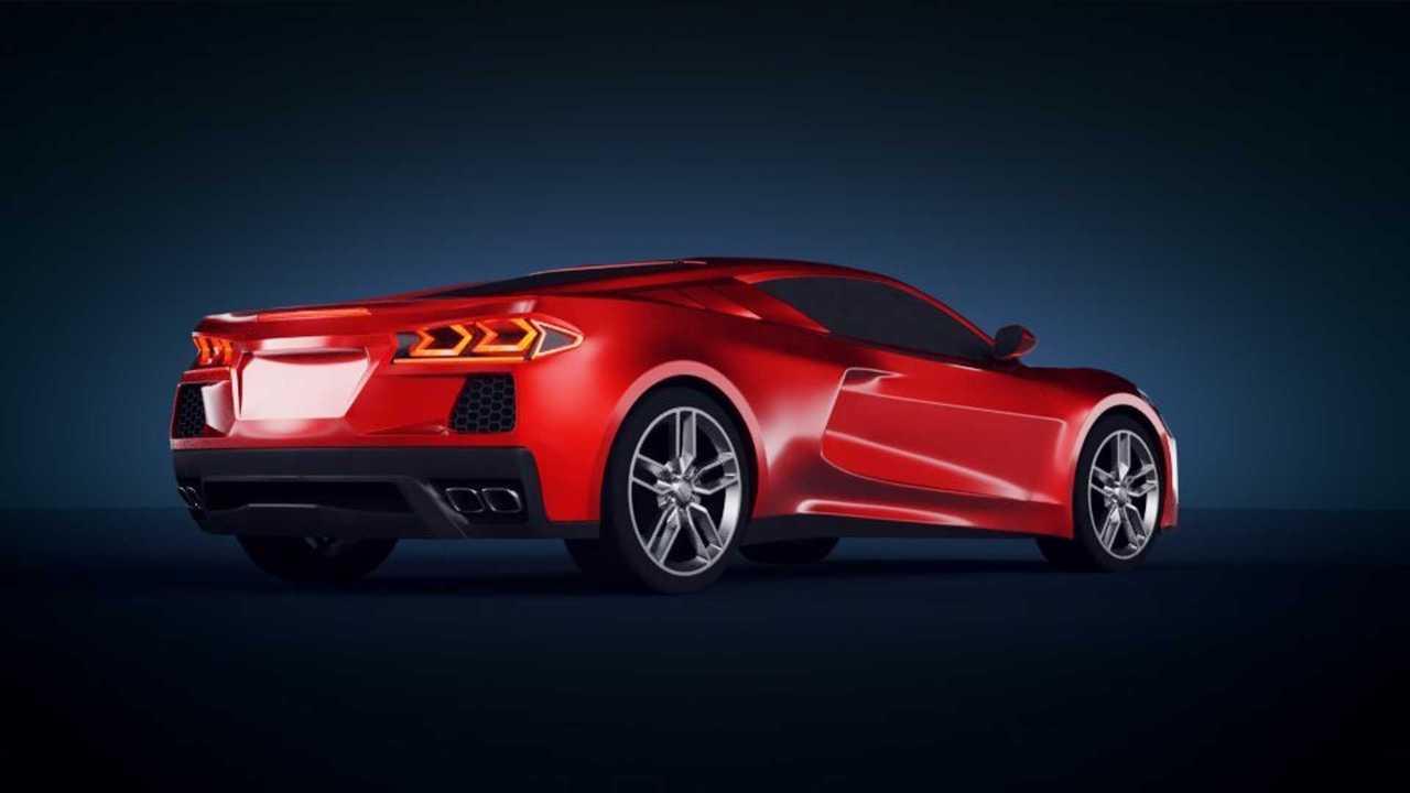 Mid-Engine Corvette Fan Rendering