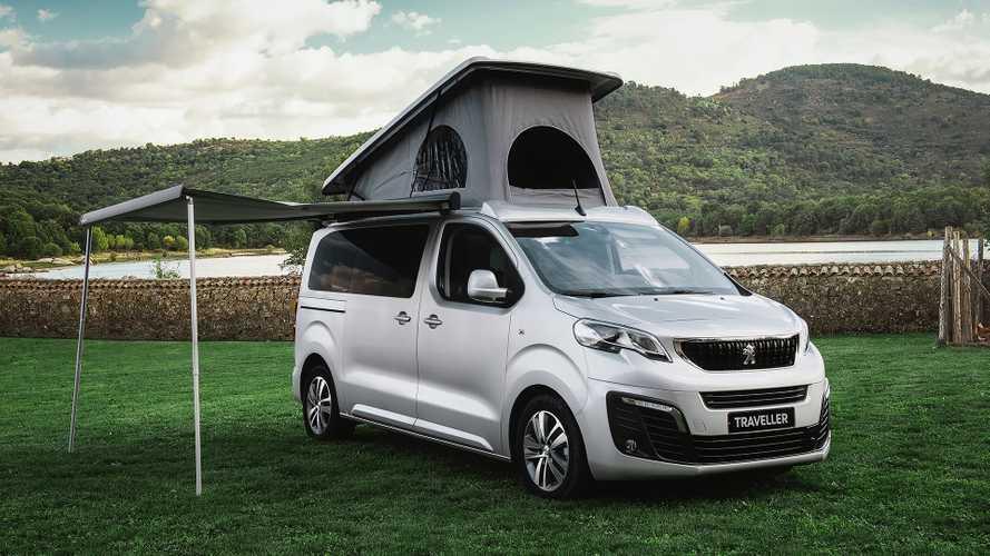 Descubre la gama camper de Peugeot, en colaboración con Tinkervan