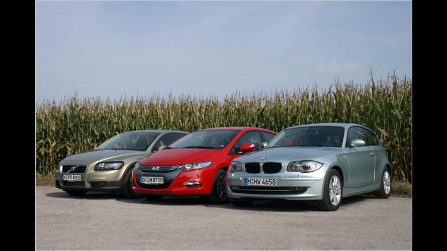 Kompaktsparer im Vergleich: Zwei Diesel gegen Hybrid