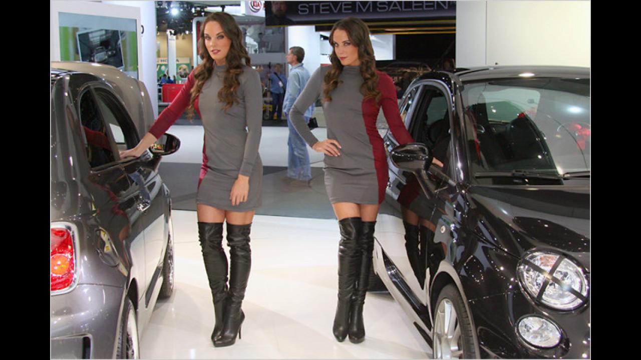 So sorgt Fiat in Detroit für Aufmerksamkeit – mit einem nur wenig gemischten Doppel