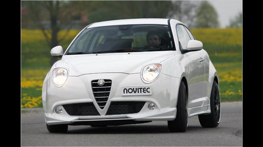 Power, Design und Sport: Novitec tunt den Alfa MiTo