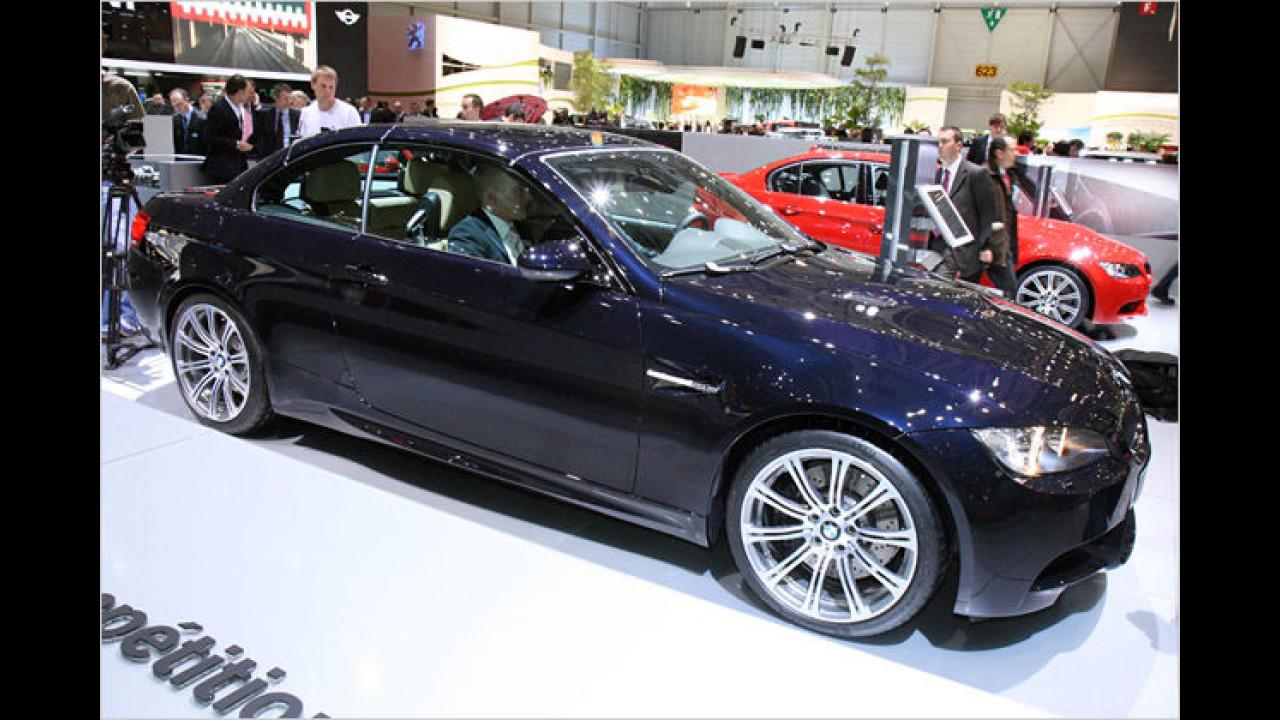 BMW M3 Cabrio: Nach Coupé und Limousine gibt es nun auch einen offenen M3