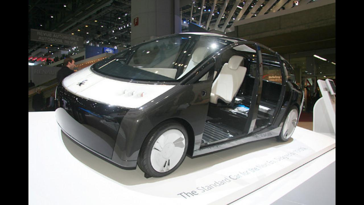 Toyota 1/X: Mit 420 Kilogramm ist die Plugin-Hybridstudie rekordverdächtig leicht