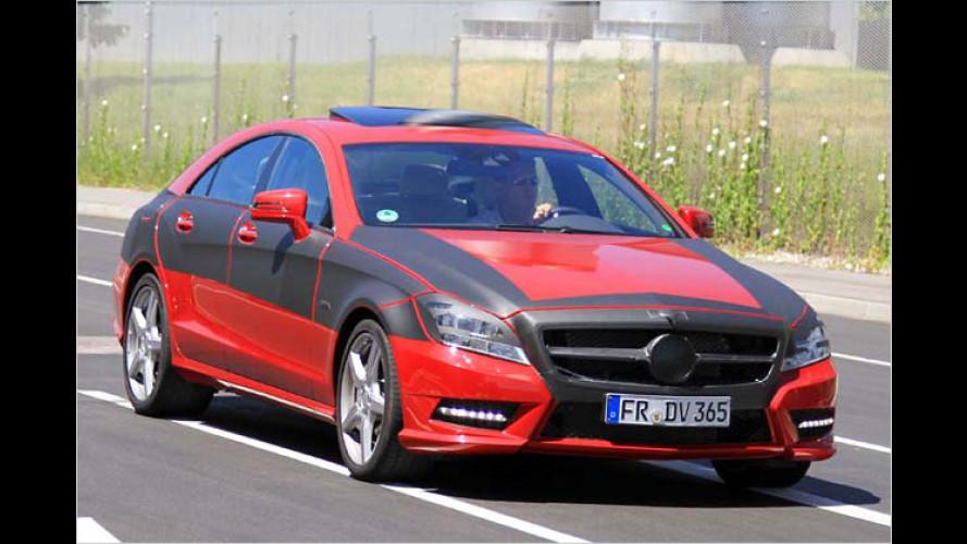 Mercedes CLS erwischt: So sieht der Neue aus
