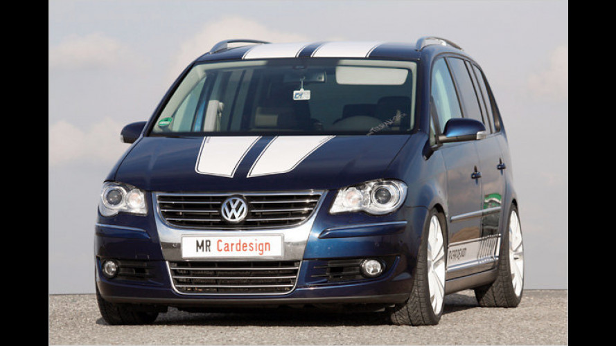 VW Touran: Mehr Performance von MR Car Design