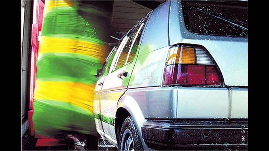 Fit und sauber in den Auto-Frühling
