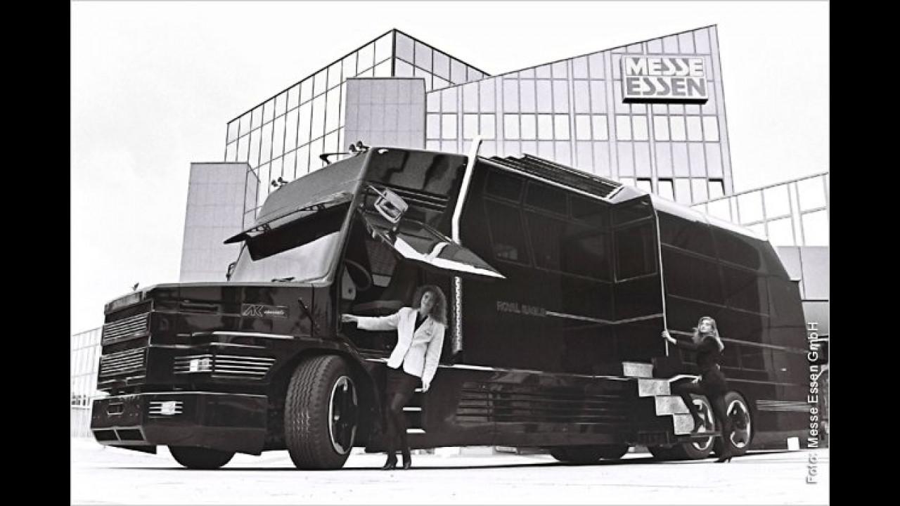 1991: Reisemobil mit Flügeltüren