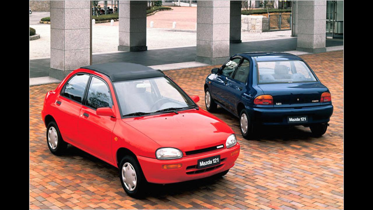 9. Mazda 121 (1992)