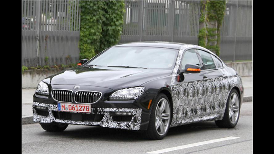 Schon erwischt: BMW 6er GranCoupé plus M-Version