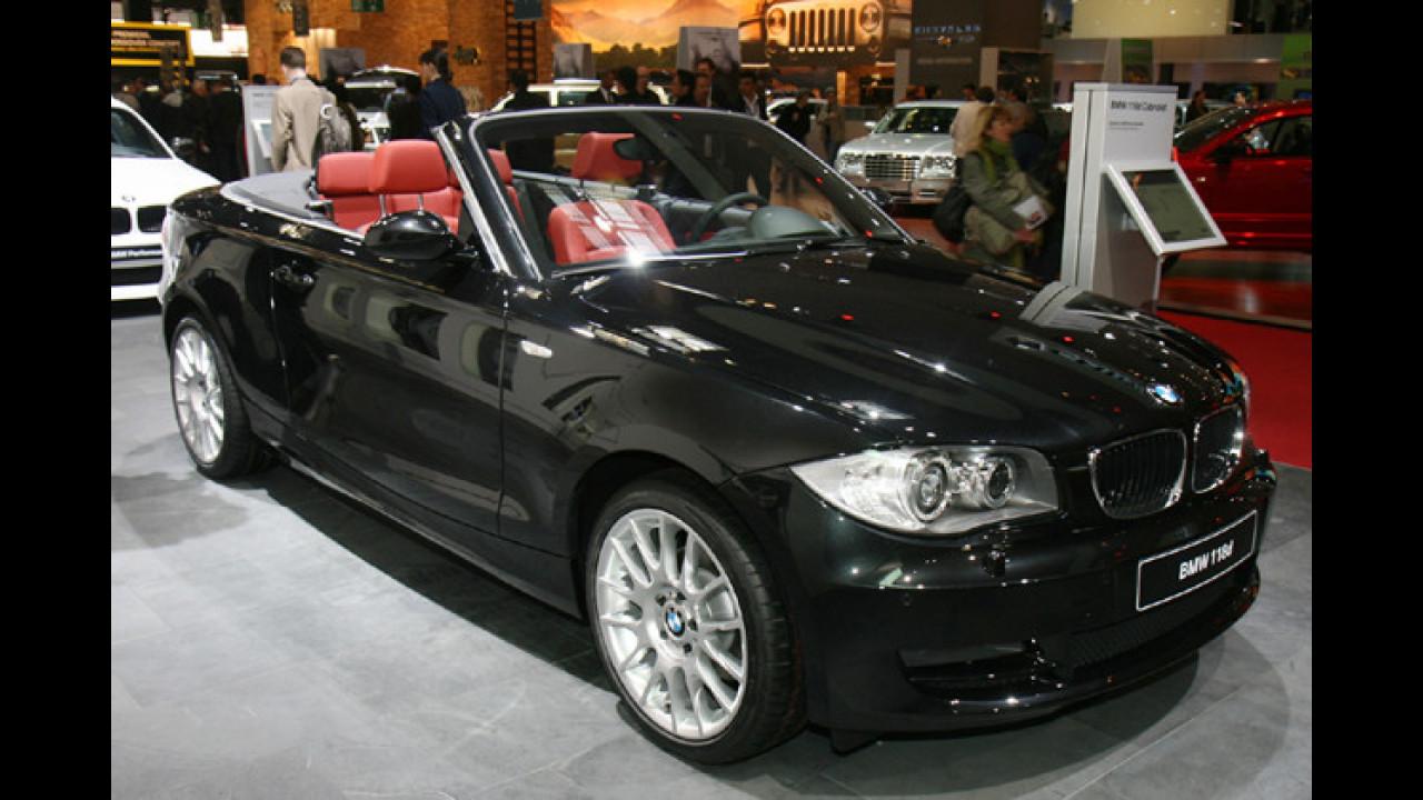 BMW 118d und 123d Cabrio