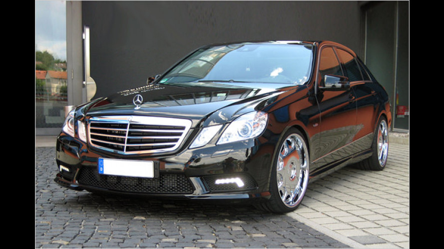 CDC spitzt den Stern: Tuning für die Mercedes E-Klasse