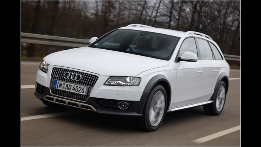 Audi A4 allroad quattro (2009) im Test: Gut gerüstet für schlechte Wege?