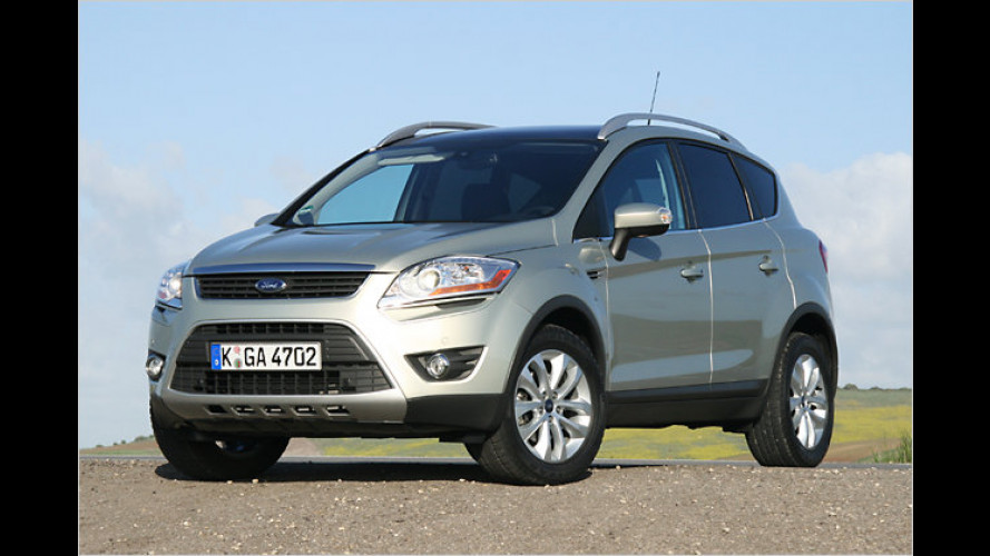 Dynamischer Spätzünder: Der Ford Kuga 4x4 im Test