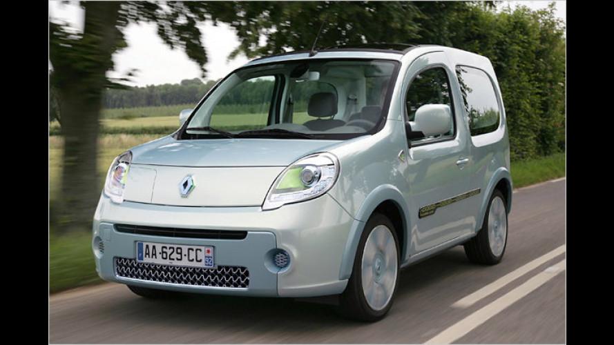 Schon gefahren: Prototyp von Renaults Elektro-Lieferwagen