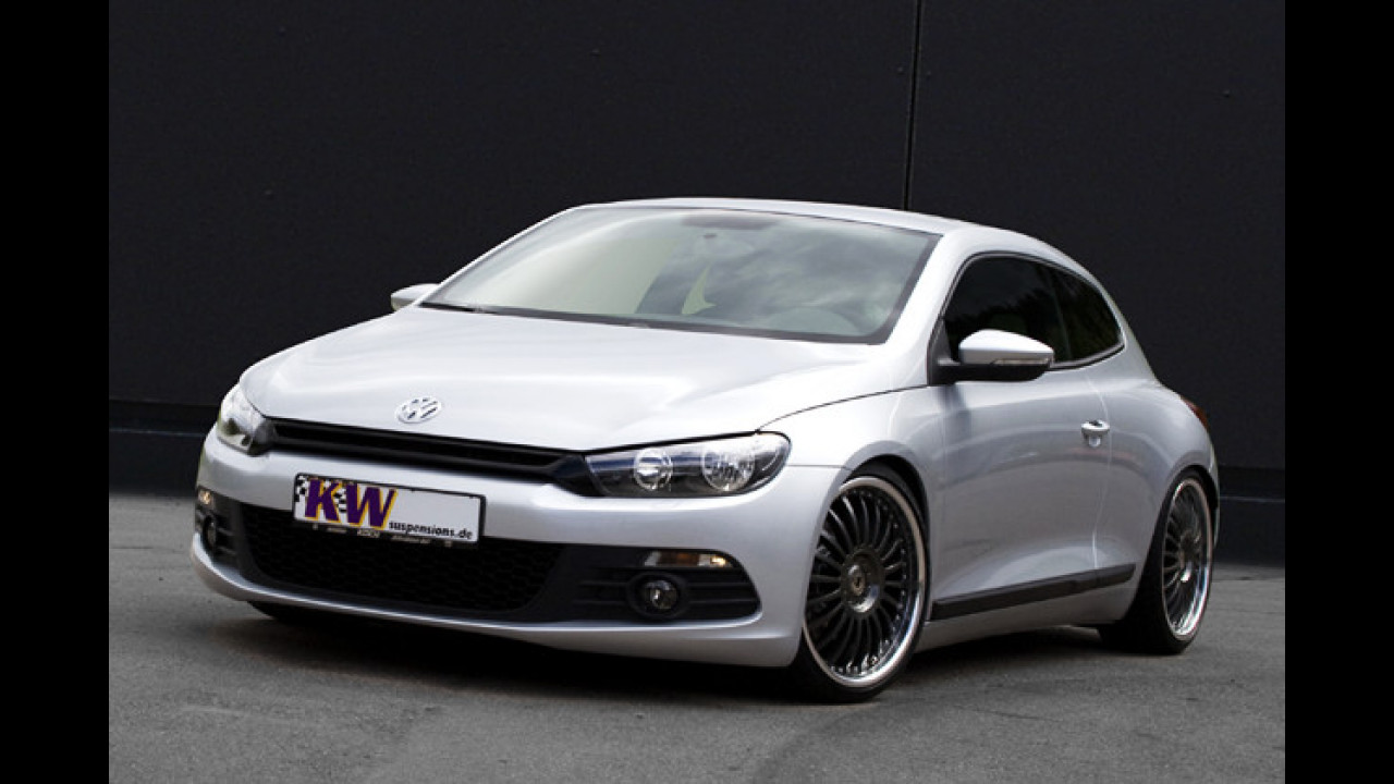 Scirocco wird tiefer