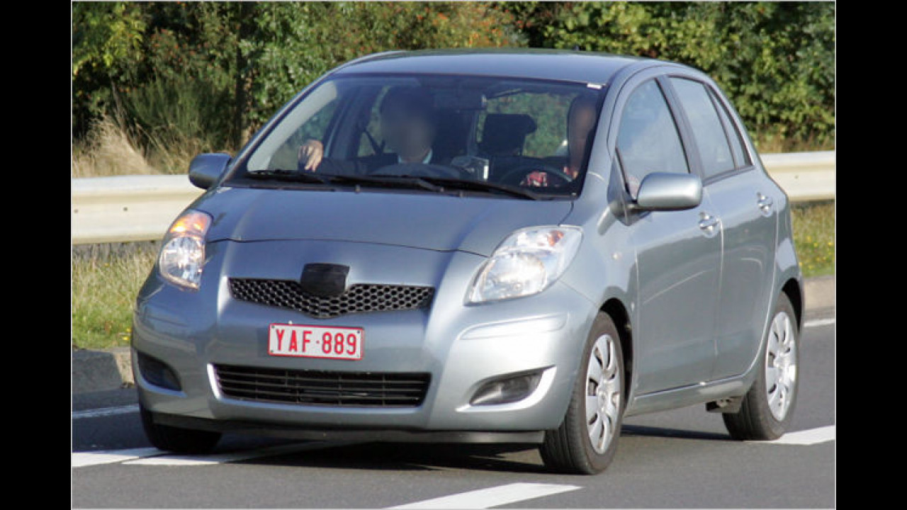 Facelift Toyota Yaris