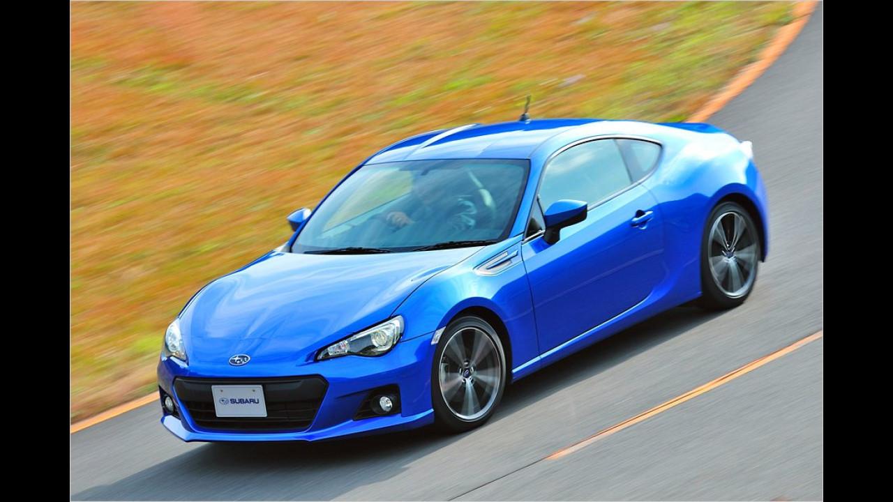 September: Subaru BRZ und Toyota GT 86