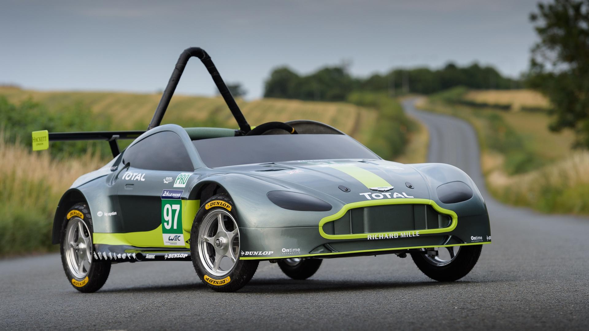 This Is The New Gravity Powered Aston Martin Race Car