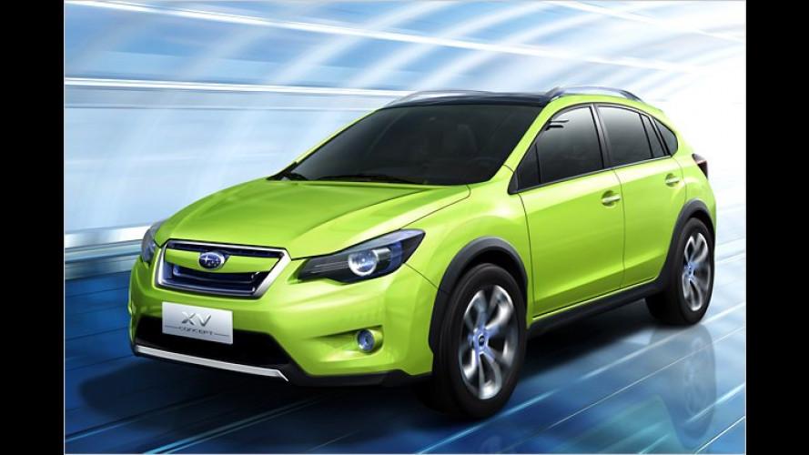 Subaru XV Concept: Habichtauge, sei wachsam