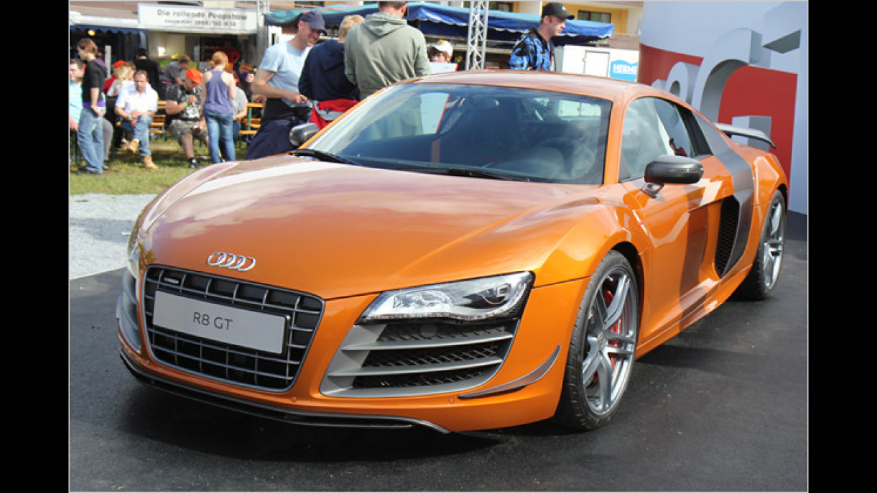 R8 GT: Audi zeigt sein neuestes Werk