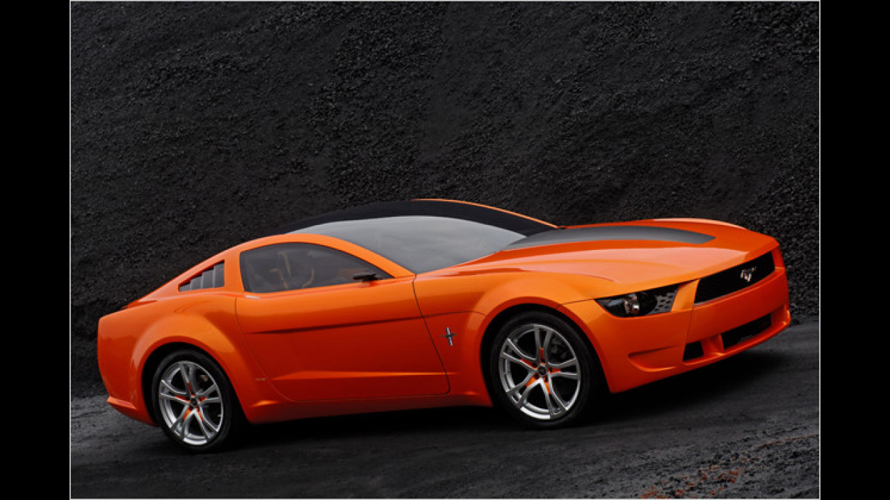Ford Mustang Giugiaro Concept (2009)