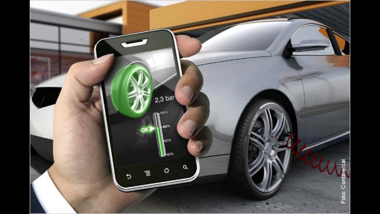 Druckkontrolle per Handy