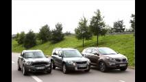 Kompakt-SUVs im Vergleich