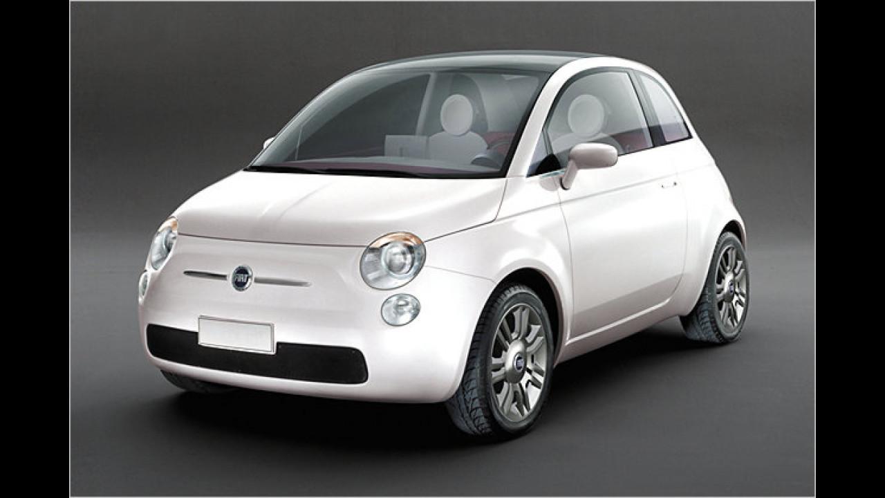 Aus dem Fiat Trepiùno ...