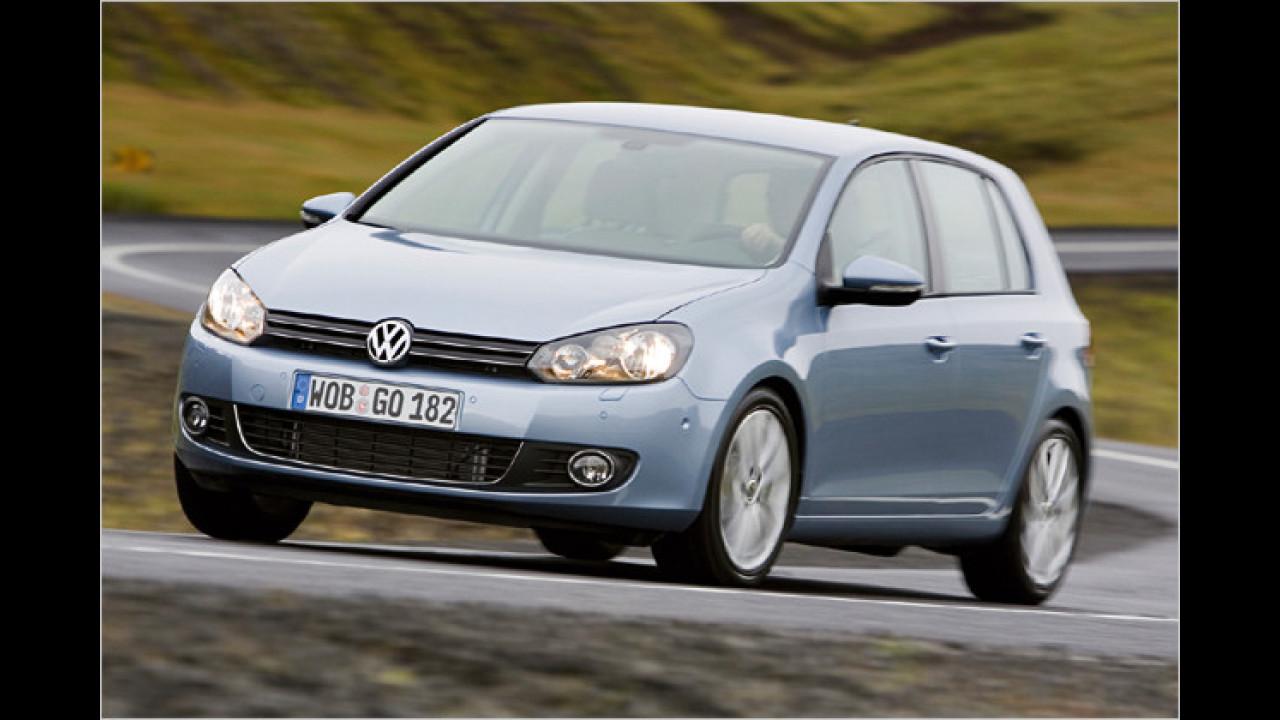 VW Golf schluckt weniger