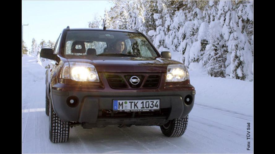 TÜV gibt Tipps zum Kälteschutz im Winter-Stau