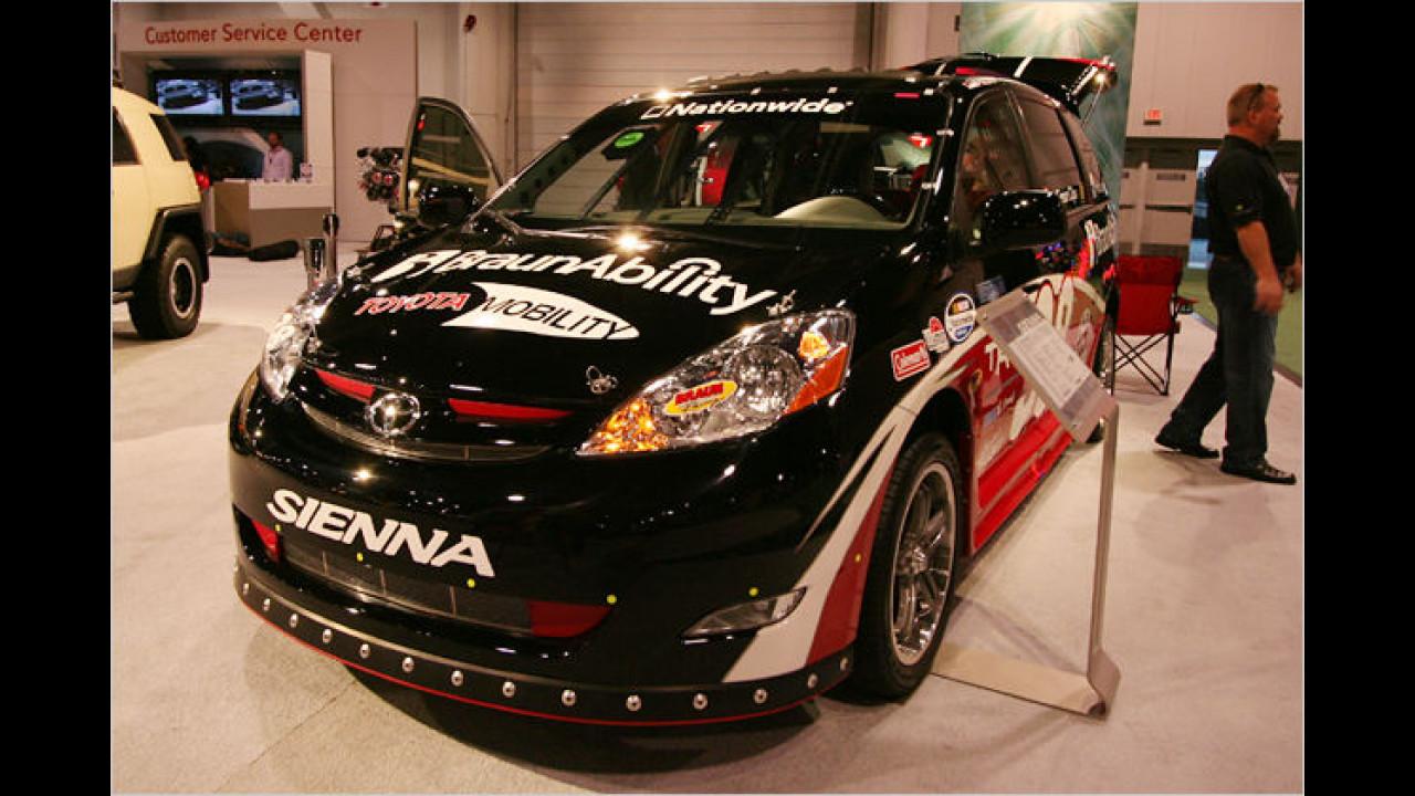 Nascar Fan Toyota Sienna Rampvan