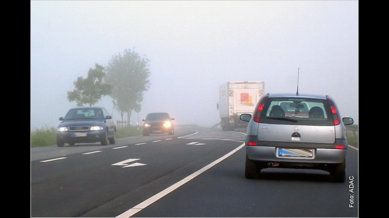 ,Die Nebelschlussleuchte brauche ich nie, ich weiß nicht einmal, wo ich die einschalten muss