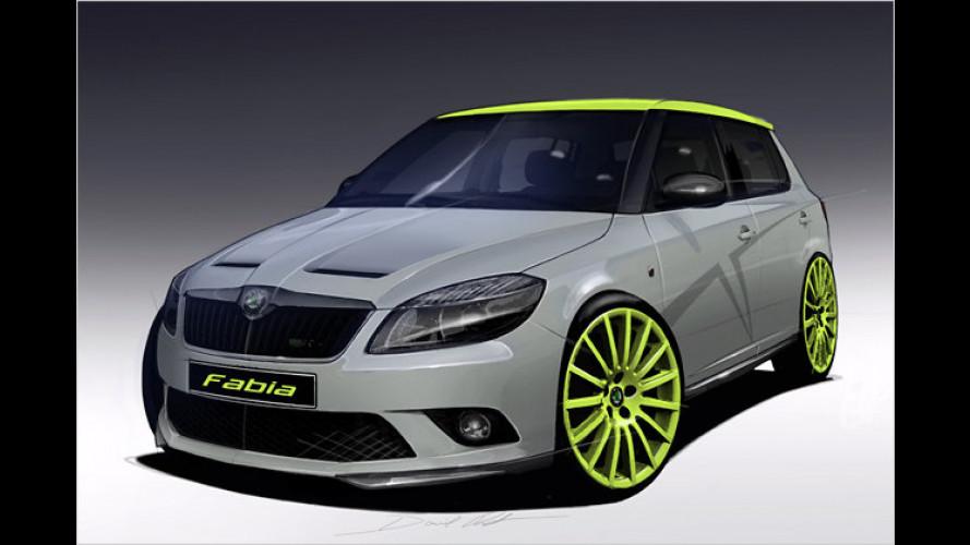 Wörthersee 2010: Skoda zeigt Fabia RS+ und Octavia RS+