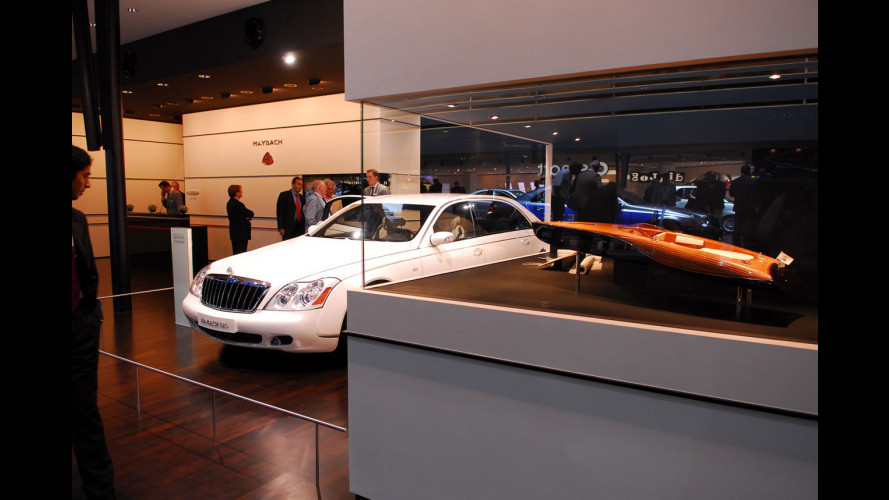 Maybach al Salone di Francoforte 2007