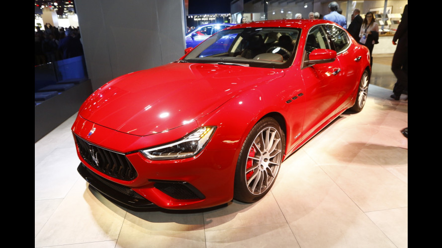 Salone di Francoforte: Maserati Ghibli, ora è più high tech [VIDEO]