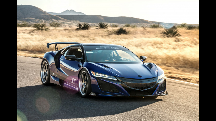 Honda NSX Dream Project, giapponese dall'animo yankee